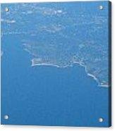 Flying Over Land Acrylic Print
