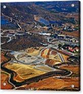 Flying Over Spanish Land II Acrylic Print