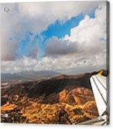 Flying Over Spanish Land IIi Acrylic Print