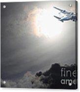 Flying The Friendly Skies Acrylic Print
