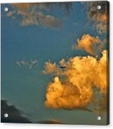 Flying With The Clouds Acrylic Print