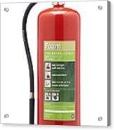 Foam Fire Extinguisher Acrylic Print by Mark Sykes