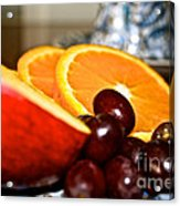 Focus Food Acrylic Print
