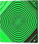Focus On Green Acrylic Print