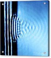 Focusing Water Waves Acrylic Print