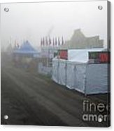 Fog On The Midway Acrylic Print