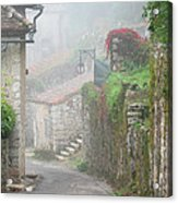 Foggy Lane In St Cirq Acrylic Print