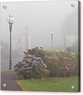 Foggy Morn Acrylic Print