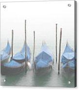 Foggy Morning Grand Canal Acrylic Print