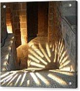 Follow The Light-stairs Acrylic Print