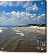 Folly Beach Charleston South Carolina Acrylic Print