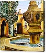Fontaine De Venasque Acrylic Print