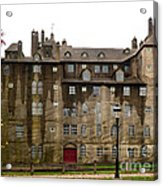 Fonthill Castle In The Rain  Acrylic Print