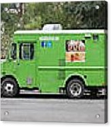 Food Trucks Acrylic Print