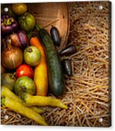 Food - Vegetables - Very Early Harvest Acrylic Print
