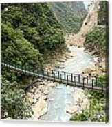 Foot Bridge Acrylic Print