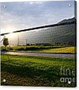 Football Goal Acrylic Print