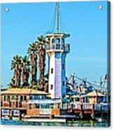 Forbes Island Lighthouse Acrylic Print