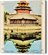 Forbidden City Acrylic Print