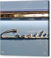 Ford Crestline Acrylic Print