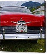 Ford Fairlane Crown Victoria Acrylic Print