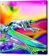Ford Greyhound Acrylic Print