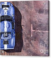 Ford Gt40 Leman Classic Acrylic Print