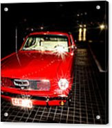 Ford Mustang Acrylic Print