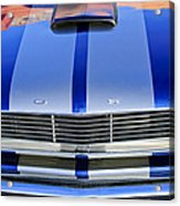 Ford Mustang Grille Acrylic Print