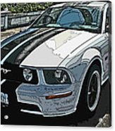 Ford Mustang Gt No. 2 Acrylic Print