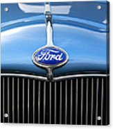 Ford Truck Emblem Acrylic Print