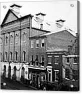 Fords Theater - After Lincolns Assasination - 1865 Acrylic Print