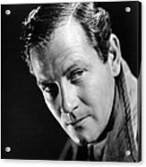 Foreign Correspondent, Joel Mccrea, 1940 Acrylic Print