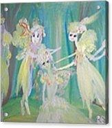 Forest Ballet Acrylic Print