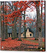 Forest Field House 2 Acrylic Print