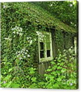 The Forgotten English Cottage Acrylic Print