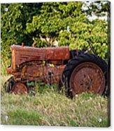 Forgotten Tractor 23 Acrylic Print