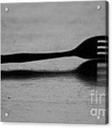 Fork Acrylic Print
