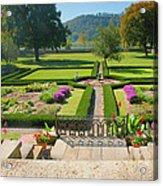 Formal Garden I Acrylic Print by Steven Ainsworth