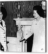 Former First Lady Mamie Eisenhower Acrylic Print by Everett