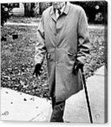 Former President Harry Truman Walks Acrylic Print by Everett