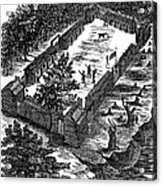 Fort Boonesborough, 1775 Acrylic Print