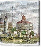 Fort Dearborn, 1830 Acrylic Print