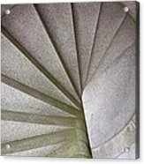 Fort Knox Granite Spiral Staircase Acrylic Print