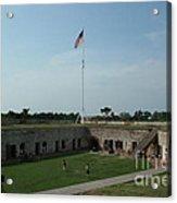 Fort Macon Acrylic Print