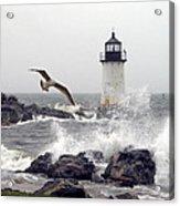 Fort Pickering Lighthouse Salem Ma Acrylic Print