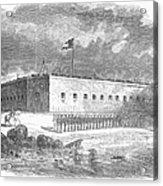 Fort Pulaski, Georgia, 1861 Acrylic Print