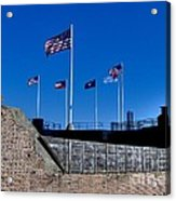 Fort Sumter Acrylic Print