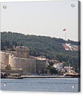 Fortress Canakkale And War Memoriel - Dardanelles Acrylic Print