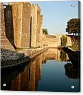 Fortress Acrylic Print by Frederic Vigne